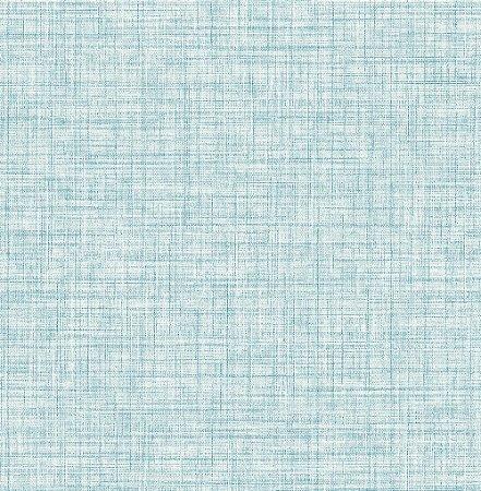 Papel De Parede Energy 10x0.52m Linho Azul