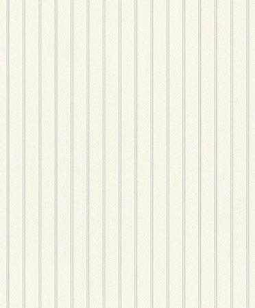 Papel De Parede Joy 10x0.53m Listra Branco/Bege Claro