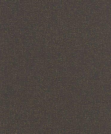 Papel De Parede Joy 10x0.53m Texturizado Preto/Dourado