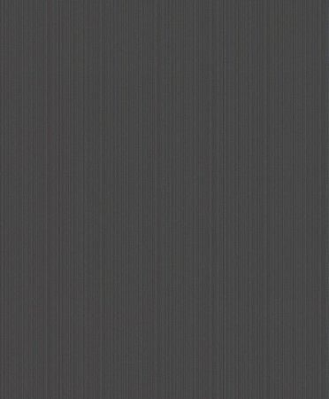 Papel De Parede Joy 10x0.53m Texturizado Listra Preto