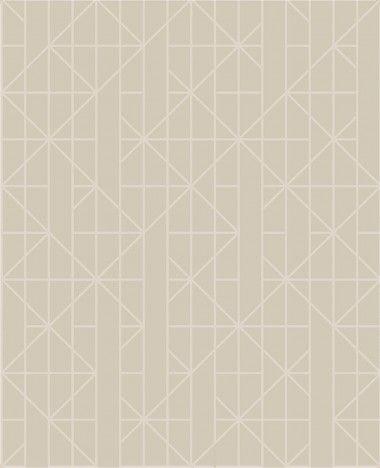 Papel De Parede Pop 10x0.52m Geometrico Ouro/Rose