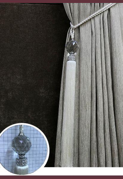 Abraçadeira p/ Cortina Pingente Luba Cristal 110