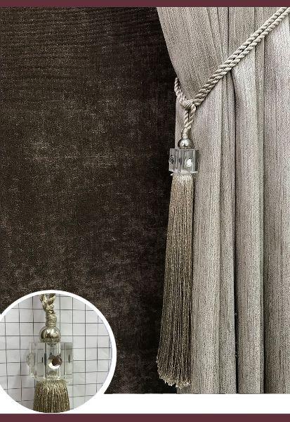 Abraçadeira p/ Cortina Pingente Luba Cristal 34
