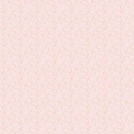 Papel De Parede Infantário Arabesco rosa 1730