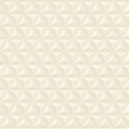 Papel De Parede Diplomata Geometrico 3D Bege Claro 3105