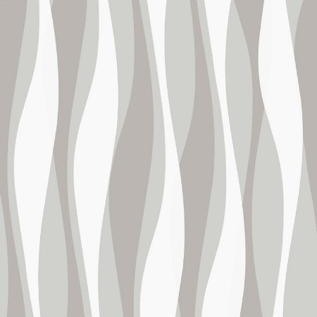 Papel De Parede Relevos 3D Cinza 3434