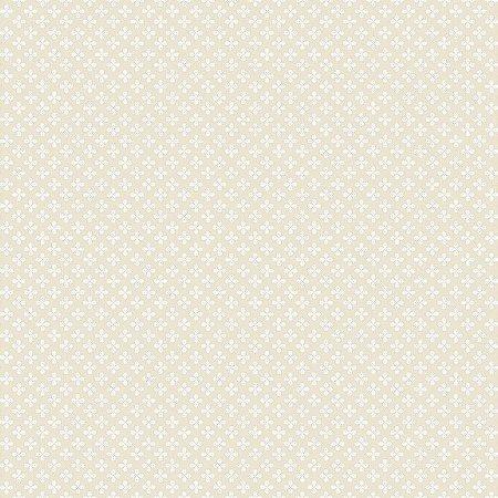 Papel De Parede Renascer Clover Bege 6225