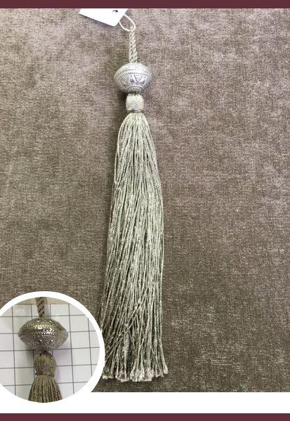 Abraçadeira p/ Cortina Pingente Luba Tassel 14195 Simples