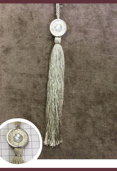 Abraçadeira p/ Cortina Pingente Luba Tassel 14 118 Simples