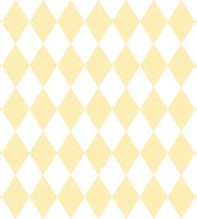Papel De Parede Renascer Geometrico Amarelo 6242