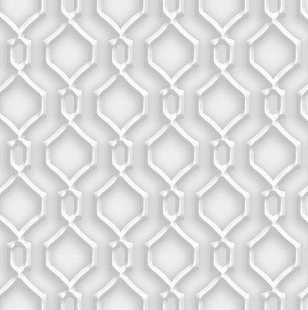 Papel De Parede Dimensões Geometrico Cinza 0002