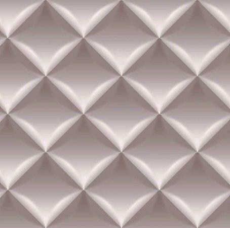 Papel De Parede Dimensões 3D Bege 0007
