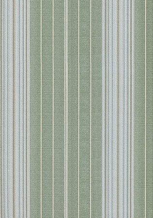 Papel De Parede Classique Listras Verde 2819