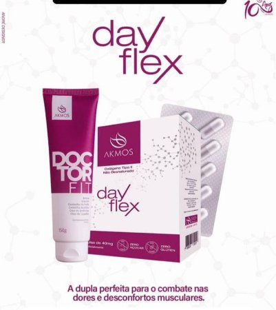 Combo Dayflex + Doctor Fit Akmos