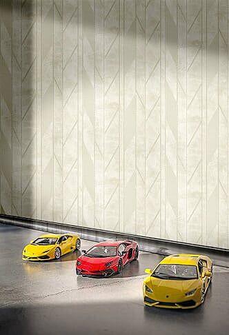 Papel de Parede Lamborghini Z44829  Geométrico   - Vinílico 7 mts²