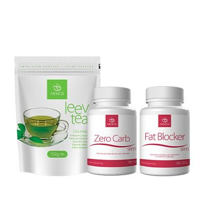 Akmos Leev Tea +zero Carb + Fat Blocker. Perder Peso