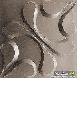 KIT C/22 PLACAS REVESTIMENTO 3D  ARABESCO FENDI  30X30cm P3D01