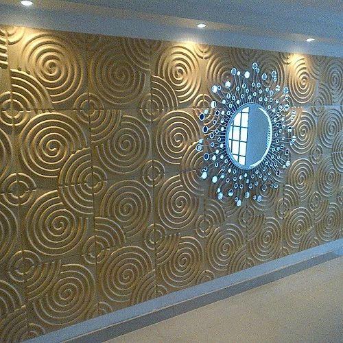 Revestimento Decorativo Placas 3D  Pelágia 1 mt²