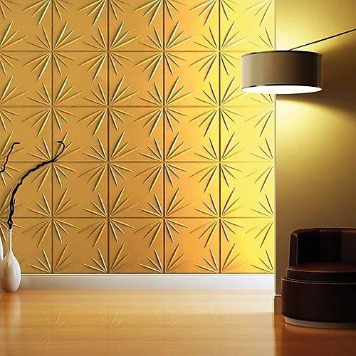 Revestimento Decorativo Placas 3D  Pontinas 1 mt²