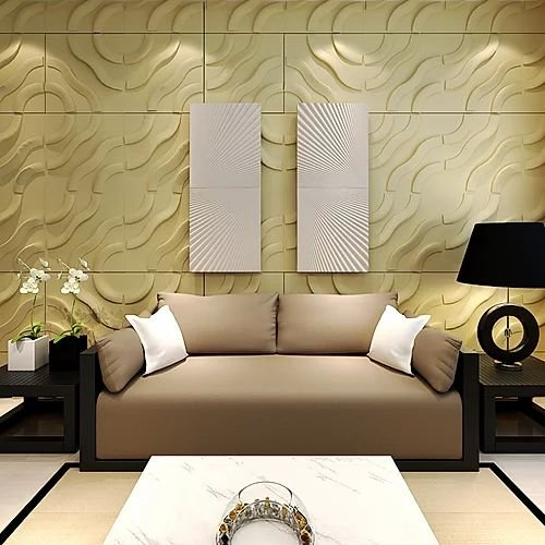 Revestimento Decorativo Placas 3D   Murano 1 mt²