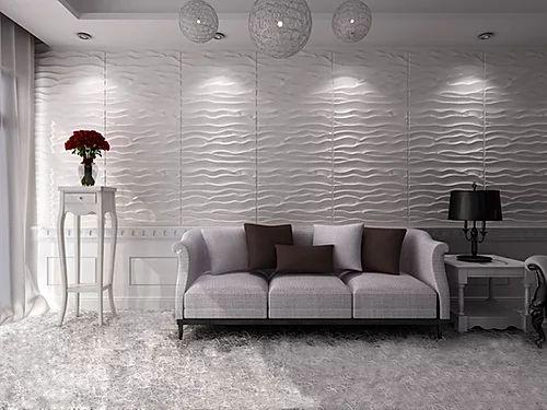 Revestimento Decorativo Placas 3D  Barletta 1 mt²