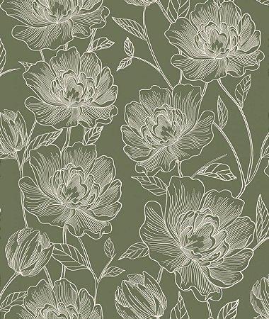 Papel de Parede ATEMPORAL - 3800 Flores