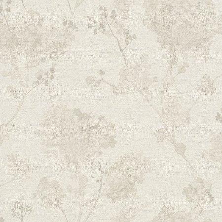 Papel De Parede Florido Salsa Finottato  0401300552 5mt²  Floral