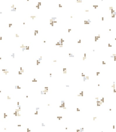 Papel de Parede Infantil Lego Marrom - Coleção Brincar 3637