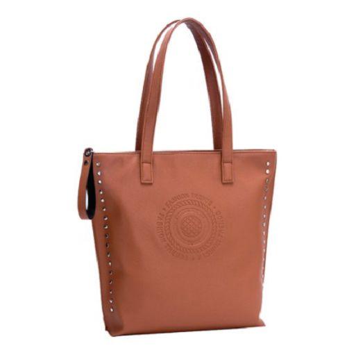 Bolsa Tote Bag Caramelo Modelo de ombro - AA822