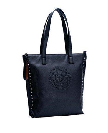 Bolsa Tote Bag Preta Modelo de ombro - AA823