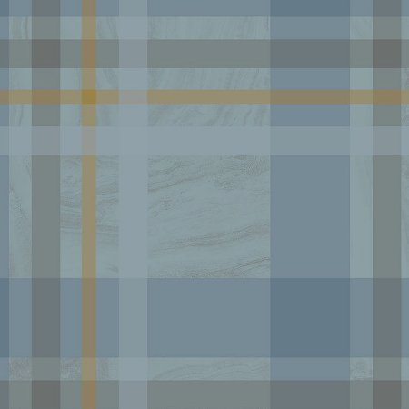 Papel De Parede Unico 10x0.52m Geometrico Azul - Finotatto 0401301726