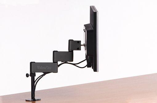Suporte para Monitor VídeoFlex Mecânico LCD Passa Fio