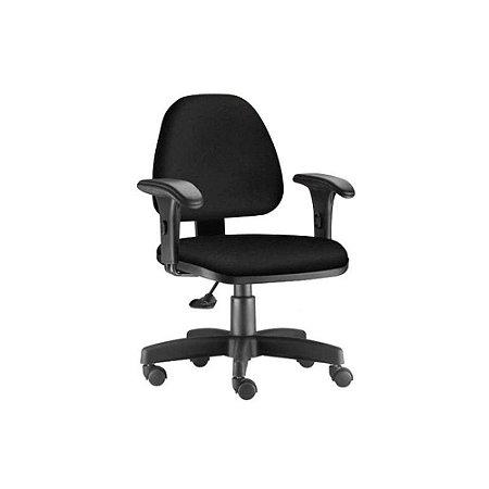 Cadeira Sky baixa com braço modelo secretária frisokar
