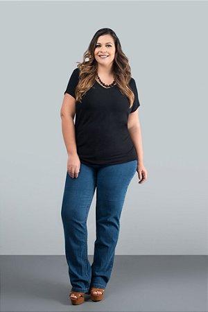 Calça Jeans Tradicional - Azul Claro