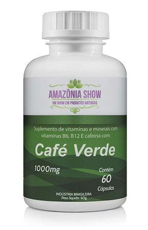Café Verde 60 capsulas de 1000mg