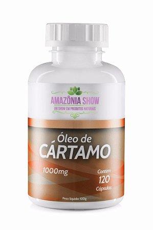 1 Frasco de Óleo de Cartamo 120 Capsulas de 1000 mg