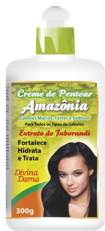 Amazônia Creme de Pentear300g - Extrato de Jaborandi