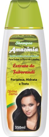 Amazônia Shampoo  350ml - Extrato de Jaborandi