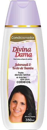 Divina DamaCondicionador 350ml -Jaborandi + Broto de Bambú