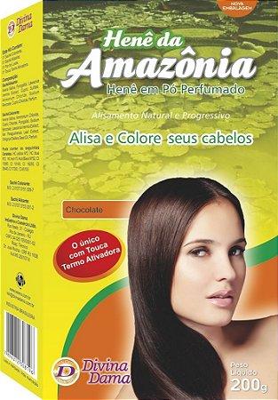 Amazônia Henê Pó 200g Chocolate