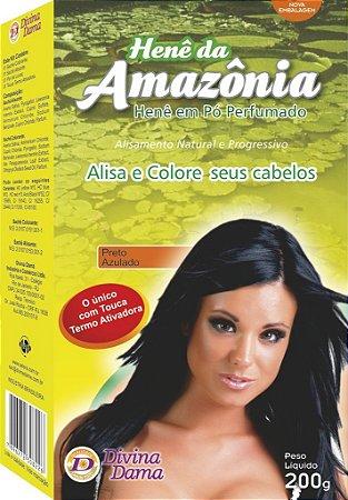 Amazônia Henê Pó 200g Preto Azulado