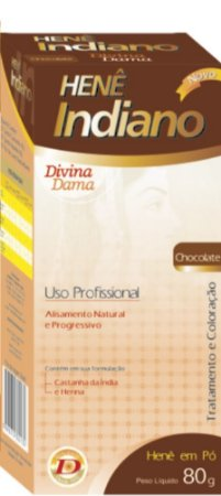 Indiano Henê Pó 80g Chocolate