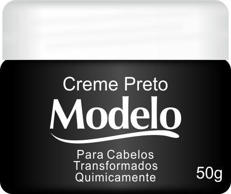 Modelo Creme Preto 50g