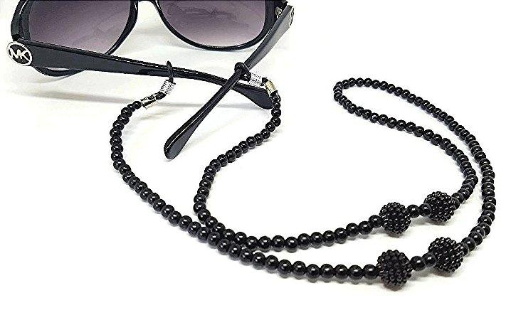 Corrente Salva óculos preto noir