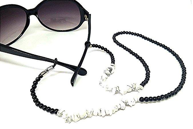 Corrente Salva óculos Pedra Cascalho