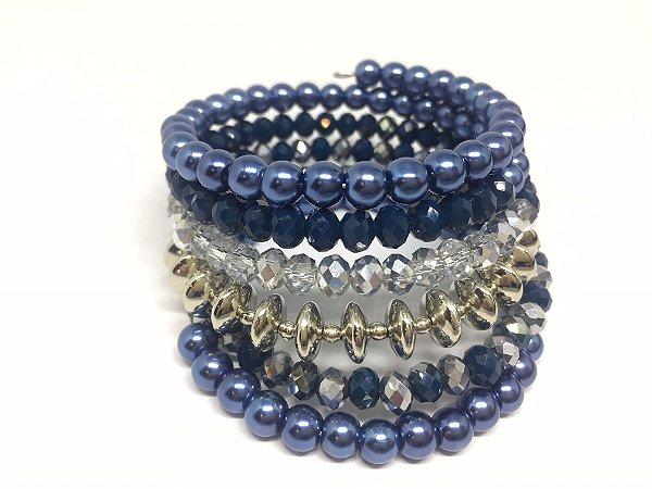 Bracelete Memory Azul