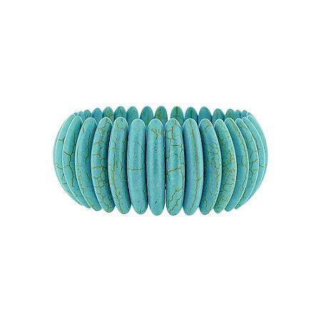 Bracelete Pedra Howlita