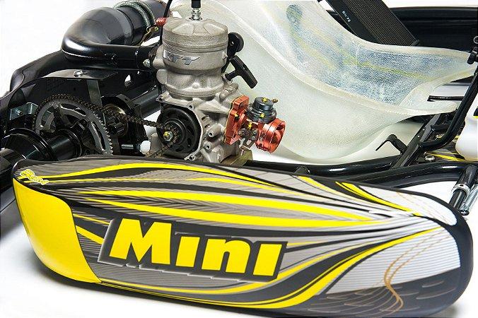 Lançamento KTT - Motor 2 TEMPOS com Embreagem e CORDINHA (Partida Retrátil).