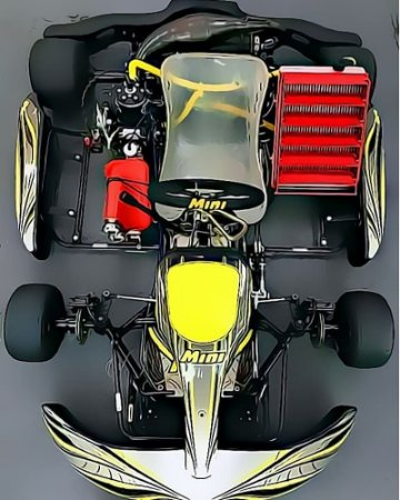 Chassis Shifter KartMini - Zero Lançamento CBA/FR/2020