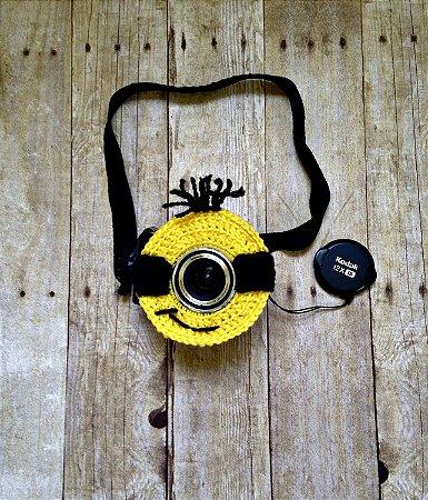 Lens Props Minions em Croche - Meu Malvado Favorito